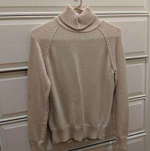 Cream turtle neck sweater